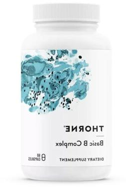 Thorne Research-  Basic B Complex -Active B Vitamins 60 cps