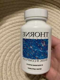 Thorne Research Basic B Complex Supplement 60 Caps, EXPIRED