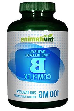 B-Complex 100 Mg Time Release - 250 Tablets