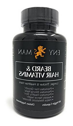Beard Growth Supplement With Natural And Essential Beard Vit