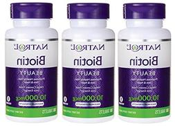 Natrol Biotin, Maximum Strength, 10,000 mcg Tablets 100 ea
