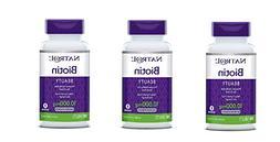 Natrol Biotin, Beauty, 10,000 mcg Maximum Strength Tablets 1