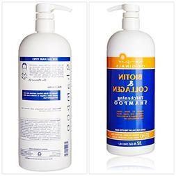 Biotin and Collagen Shampoo B-Complex Vitamins B7 Biotin for