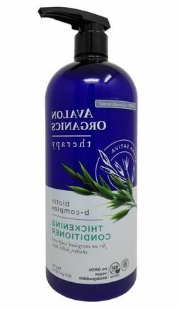 Avalon Organics Biotin B-Complex Thickening Conditioner 32oz