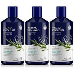 Lot of 3 Avalon Organics Biotin B-complex Therapy Thickening