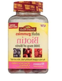 Biotin Gummies by Nature Made,90 ct