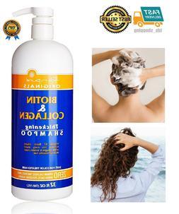 All Natural Biotin Shampoo For Hair Growth & Hair Loss - Men