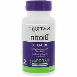 Biotin Vitamin B7  10,000mcg 100 Tablets B-Complex vitamin H