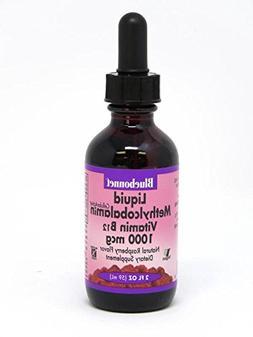 Bluebonnet Liquid Cellular Active Methycobalamin 1000 mcg, 2