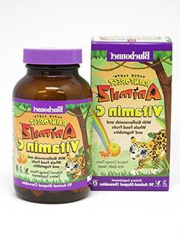 Bluebonnet Super Earth Rainforest Animalz Vitamin C Chews, O