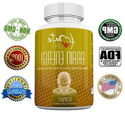 Amate Life Brain Energy Natural Supplement- Time Released Ph