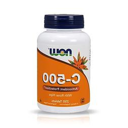 NOW Vitamin C-500,250 Tablets