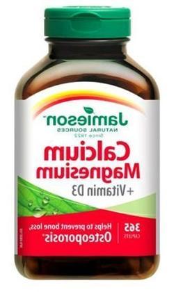 Jamieson Calcium Magnesium with Vitamin D3, 365 Caplets