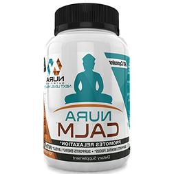 Nura Calm for Focus, Energy, Memory & Clarity, All Natural N