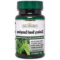 Natures Aid Celery Seed Complex with Montmorency Cherry, Bur