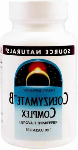 Source Naturals Coenzymate B Complex Peppermint, 120 Tablets