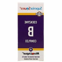 CoEnzyme B Complex, 60 Instant Dissolve Tablets