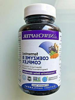 New Chapter Coenzyme B Food Complex 60 Veg Tabs