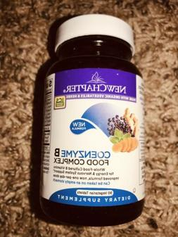 New Chapter Coenzyme B Food Complex 90 Vegetarian Tablets