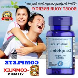 VITAMIN B-COMPLEX COMPLETE Muscle Weakness Energy Anemia Sup