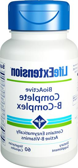 Life Extension Complete B-complex Vegetarian Capsules, 60 Co