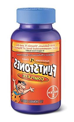 Flintstones Children's Complete Chewable Multivitamin, 150 C