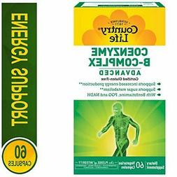 Country Life Coenzyme B Complx Advanced Capsules, 60 Count