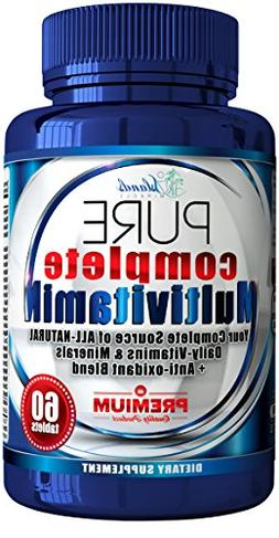 Daily Multivitamin + Antioxidant For Men & Women All Natural