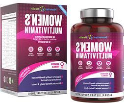Women's Daily Multivitamin Supplement - Biotin, Vitamins A B