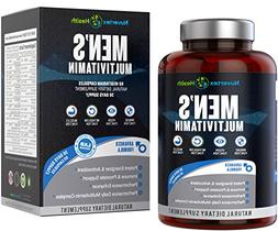 Men's Daily Multivitamin Supplement - Vitamins A C D E B1 B2