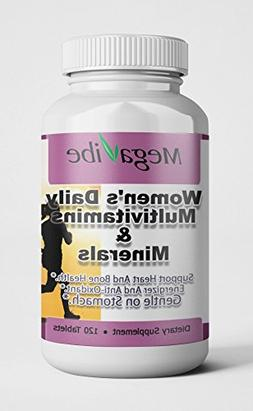 Women's Daily Multivitamins & Minerals with Iron  for Vegeta