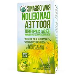 Dandelion Root Tea Detox Tea - Raw Organic Vitamin Rich Dige
