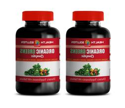 cholesterol pills natural - ORGANIC GREENS PREMIUM COMPLEX -