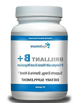 Doctor Formulated Vitamin B Supplements Complex with B6, D,