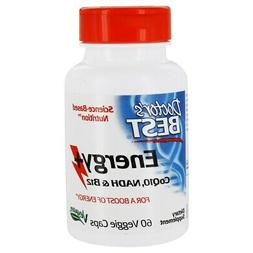 Doctor's Best Energy+ Coq10, Nadh, and B12 1000 mcg 60 Veg C