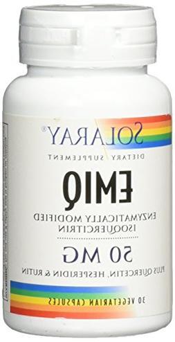 EMIQ 50 mg Solaray 30 VCaps