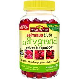 Nature Made Energy B12 Adult Gummies, Cherry & Wild Berries,