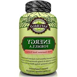 NATURELO Energy Formula - with B Complex Vitamins, Natural C