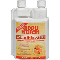Liquid Health Energy and Stress Tangerine Orange - Superior