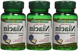 Nature's Bounty Flush Free Niacin 500 Mg, 150 Capsules