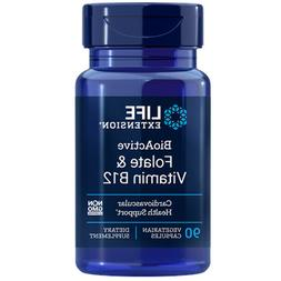 Folate & Vitamin B12 Life Extension 90 VCaps
