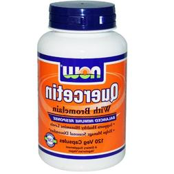 NOW Foods - Quercetin with Bromelain 120 vcaps