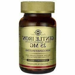 Solgar Gentle Iron  25mg, Non-Constipating, Non-GMO