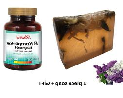 HANDMADE LILAC essential oil 100gr Soap+Gift Food <font><b>S