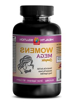 Health Solution Prime hair nail skin vitamins for women - WO