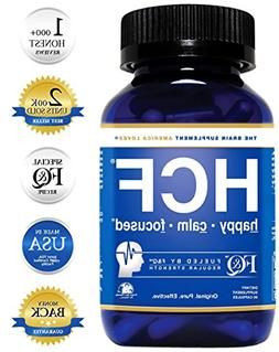 Brain Supplement for Memory, Focus, Attention, Mood. Increas