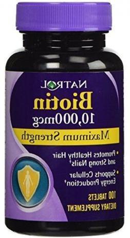Vitamin B7 Biotin Supplement, Health Vitamins Energy Cell Ha