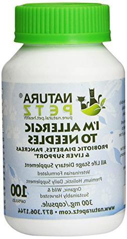 Natura Petz I'm Allergic to Needles Probiotic Diabetes, Panc