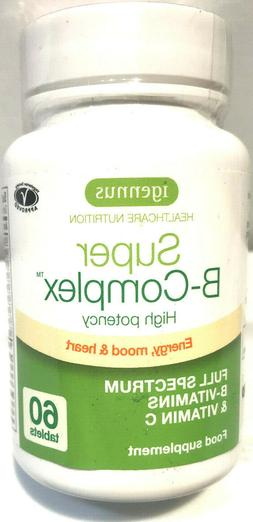 Igennus Super B-Complex Methylated B Complex Vitamins, Folat