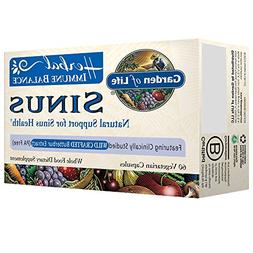Garden of Life Immune Balance Sinus - 60 Vegetarian Capsule